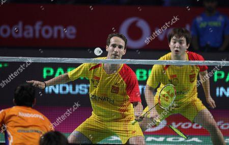 Editorial photo of Premier Badminton League, Hyderabad, India - 13 Jan 2018