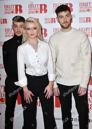 Jack Patterson, Grace Chatto and Luke Patterson