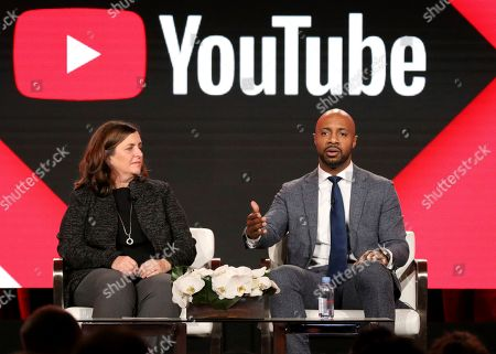 Susanne Daniels, Jay Williams. YouTube Global Head of Original Programming Susanne Daniels, left, and Jay Williams participate in the 'Best Shot' panel during the YouTube Television Critics Association Winter Press Tour, in Pasadena, Calif