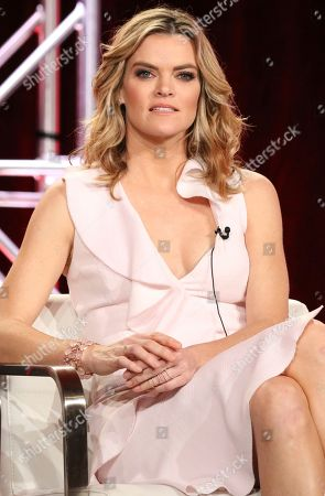 Stock Photo of Missy Pyle participates in the 'Impulse' panel during the YouTube Television Critics Association Winter Press Tour, in Pasadena, Calif