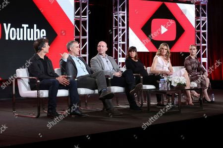 Doug Liman, David Bartis, Gene Klein, Lauren LeFranc, Missy Pyle, Maddie Hasson. Doug Liman, from left, David Bartis, Gene Klein, Lauren LeFranc, Missy Pyle and Maddie Hasson, participate in the 'Impulse' panel during the YouTube Television Critics Association Winter Press Tour, in Pasadena, Calif