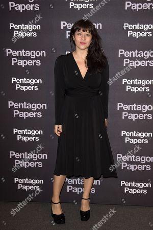 Editorial picture of 'The Post' film premiere, Paris, France - 13 Jan 2018