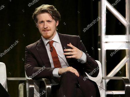 Adam Nagaitis participates in the 'The Terror' panel during the AMC Television Critics Association Winter Press Tour, in Pasadena, Calif