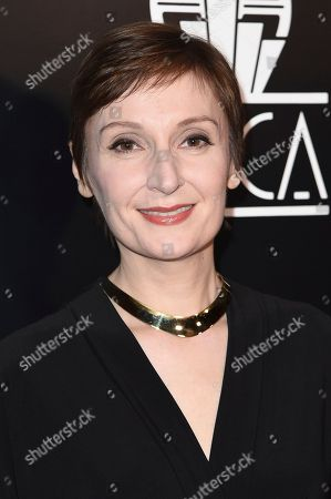 Nora Twomey attends the 43rd Annual Los Angeles Film Critics Association Awards, in Los Angeles