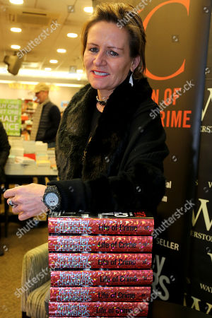 Kimberley Chambers signs copies of her new book, 'Life of Crime' at Waterstones bookshop