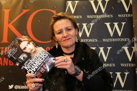 Editorial picture of Kimberley Chambers book signing, Romford, Essex, UK - 13 Jan 2018