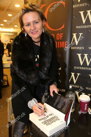 Stock Picture of Kimberley Chambers signs copies of her new book, 'Life of Crime' at Waterstones bookshop