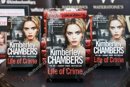 Stock Photo of 'Life of Crime' by Kimberley Chambers at Waterstones bookshop