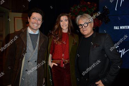 Matteo Marzotto, Nora Shkreli, Giuseppe Zanotti