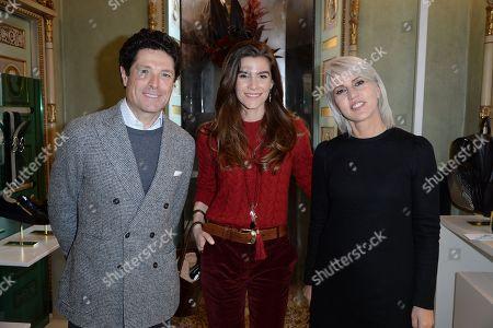 Matteo Marzotto, Nora Shkreli, Mirna Zanotti