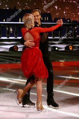 Mark Hanretty and Maria Sergejeva
