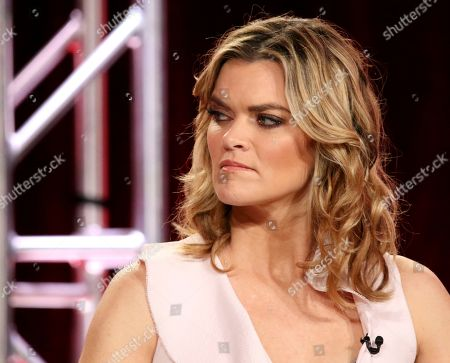 Missy Pyle participates in the 'Impulse' panel during the YouTube Television Critics Association Winter Press Tour, in Pasadena, Calif