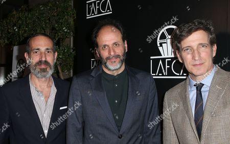Marco Morabito, Luca Guadagnino, Peter Spears