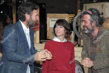 Chef Carlo Cracco, Cristina Tajani, Kean Etro