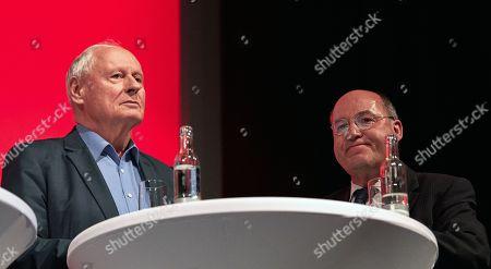 Oskar Lafontaine and Gregor Gysi