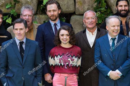 Rob Brydon, Mark Williams, Tom Hiddleston, Maisie Williams, Simon Greenall, Nick Park and Kayvan Novak