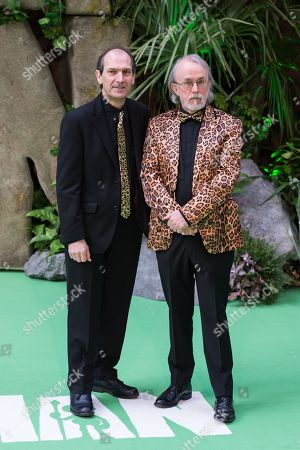 Stock Image of Aardman co-founders David Sproxton and Peter Lord