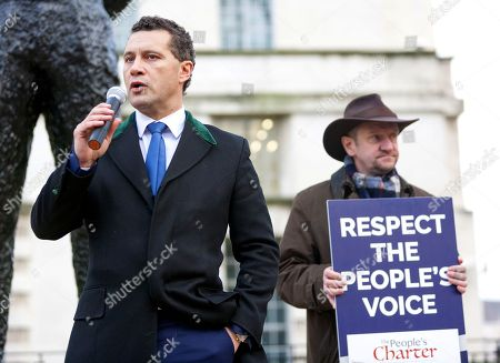 Stock Picture of Steven Woolfe MEP