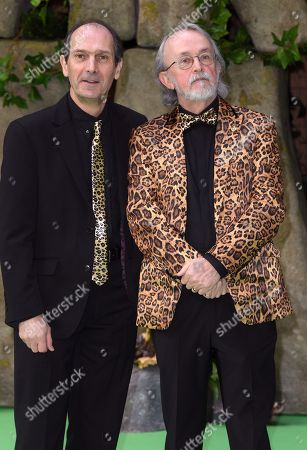 Stock Photo of David Sproxton and Peter Lord