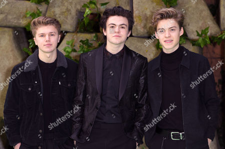 New Hope Club - George Smith, Blake Richardson and Reece Bibby