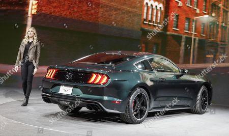 Editorial photo of North American International Auto Show, Detroit, USA - 14 Jan 2018