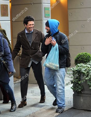 Editorial photo of Matteo Marzotto out and about, Milan, Italy - 13 Jan 2018
