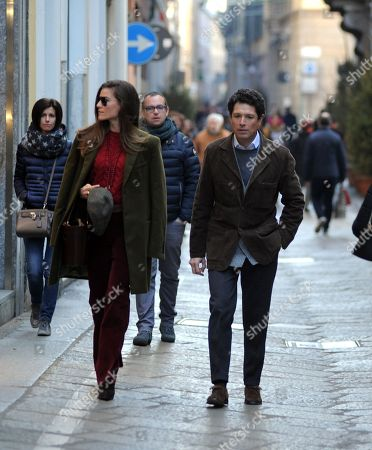 Editorial picture of Matteo Marzotto out and about, Milan, Italy - 13 Jan 2018