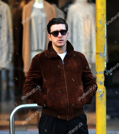 Editorial photo of Alessandro Roja out and about, Milan, Italy - 13 Jan 2018