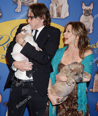 Stock Photo of Rick Springfield and Linda Blair