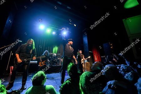Editorial photo of Geoff Tate in concert at the Muni Arts Centre, Pontpridd, Wales, UK - 14 Jan 2018