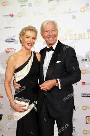 Jo Groebel mit Ehefrau Grit Weiss
