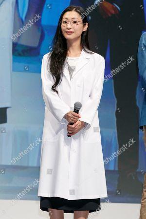 Stock Picture of Japanese actress Mitsu Dan