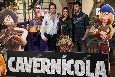 Mario Vaquerizo, Chenoa and Hugo Silva