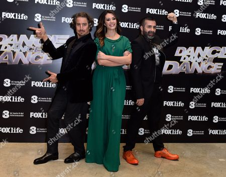 Editorial photo of 'Dance Dance Dance' TV show photocall, Rome, Italy - 15 Jan 2018