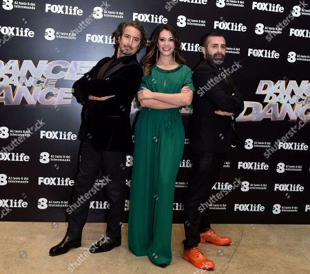 Editorial photo of 'Dance Dance Dance' TV show photocall, Rome, Italy - 15 Jan 2018