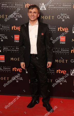 Spanish actor and comedian Jose Mota attends the Goya Awards nominees party in Madrid, Spain, 15 January 2018. The Goya Award ceremony, Spanish cinema industry biggest award, will be held 03 February 2018.