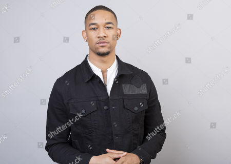 """Peyton 'Alex' Smith. Peyton """"Alex"""" Smith, a cast member in the BET series, """"The Quad,"""" poses for a portrait during the 2018 Television Critics Association Winter Press Tour at the Langham Hotel, in Pasadena, Calif"""