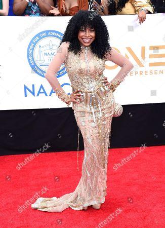 Editorial photo of 49th Annual NAACP Image Awards - Arrivals, Pasadena, USA - 15 Jan 2018