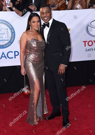 Stock Photo of Sheana Freeman, RonReaco Lee