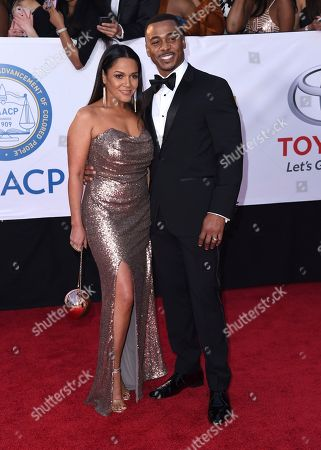 Editorial picture of 49th Annual NAACP Image Awards - Arrivals, Pasadena, USA - 15 Jan 2018