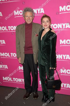 Nelson Monfort and his daughter Victoria