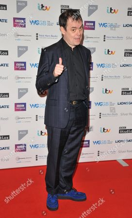 Editorial photo of Writers' Guild Awards, Arrivals, Royal College Of Physicians, London, UK - 15 Jan 2018