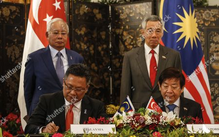 Editorial picture of 8th Singapore-Malaysia Leaders' Retreat in Singapore - 16 Jan 2018