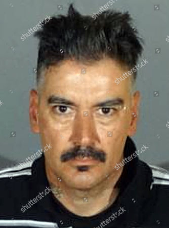 This undated photo provided by the Los Angeles County Sheriff's Department shows Jose Luis Chavez. The Sheriff's Department said, that 47-year-old Chavez is wanted on suspicion of attempted murder of an on-duty officer and is considered armed and dangerous