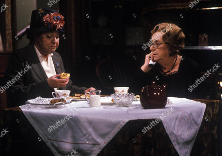 Stock Image of 'In Loving Memory' - Avis Bunnage and Thora Hird