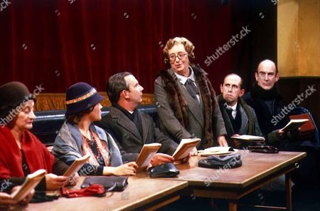 'In Loving Memory'  - Liz Smith, Lesley Dunlop, Christopher Beeny, Thora Hird, Milton Johns, Roger Brierley.