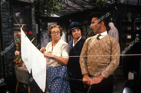 'In Loving Memory'  - Thora Hird, Avis Bunnage and Christopher Beeny.
