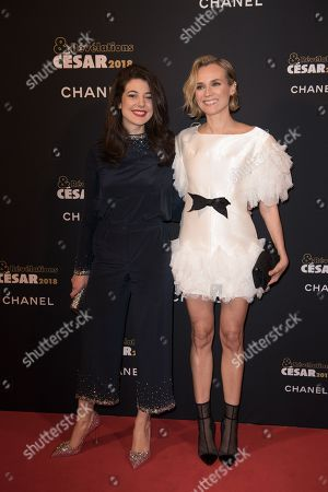 Diane Kruger and Esther Garrel