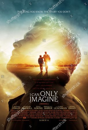 I Can Only Imagine (2018) Poster Art. J. Michael Finley, Brody Rose