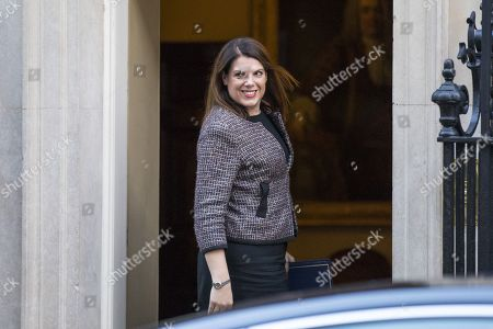 Minister of State for Immigration Caroline Noakes arrives on Downing Street for the weekly Cabinet meeting.
